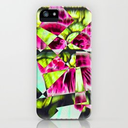 Fractured Mary and Jesus iPhone Case