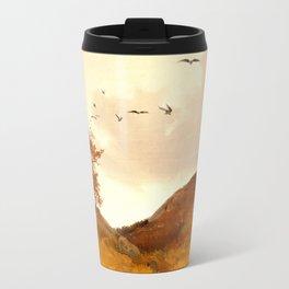 Landscape with Crows Travel Mug