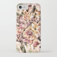 shabby chic iPhone & iPod Cases featuring Shabby Charm Chic Roses by Joke Vermeer