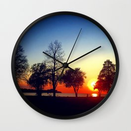 Happy in CLE Wall Clock