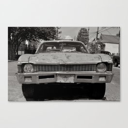Bywater Car - New Orleans, Louisiana Canvas Print