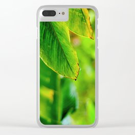 Moments of Freshness Clear iPhone Case