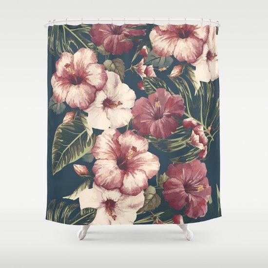 Flower pattern A Shower Curtain