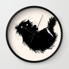 Moggy (No.3) Wall Clock