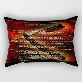 Jocelyn The Ripper Rectangular Pillow