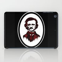 poe iPad Cases featuring Poe by Brit Austin Illustration