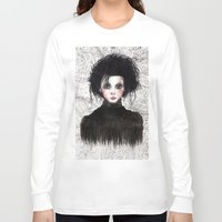 edward scissorhands Long Sleeve T-shirts featuring Edward Scissorhands by ARTEMYSA