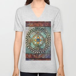 Mindful Passage Celtic Knot Unisex V-Neck