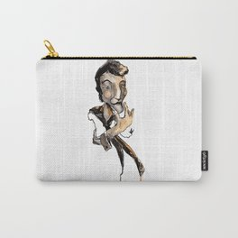 Thinker Guy Carry-All Pouch