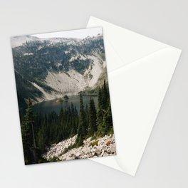 Lake Ann in North Cascades, WA Stationery Cards