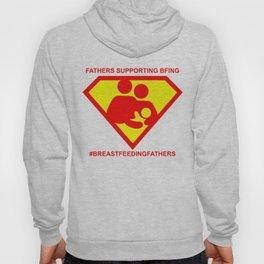 #BREASTFEEDINGFATHERS Super Supporter Tee Hoody