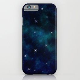 Stars under the Full Moon iPhone Case
