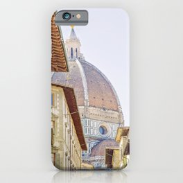 Firenze - Florence Italy, Travel Photography iPhone Case