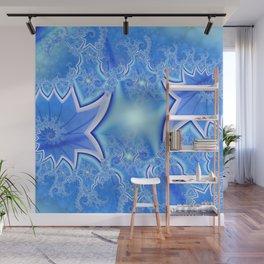 Blue Razor Wall Mural