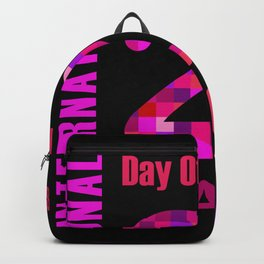 International Day of Happiness- Commemorative Day March 20 Backpack