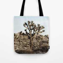 Joshua Tree National Park at Sunset Tote Bag