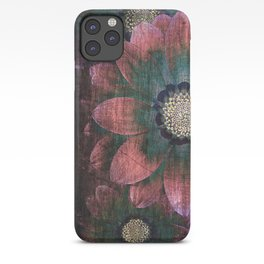 hippie flowers iPhone Case