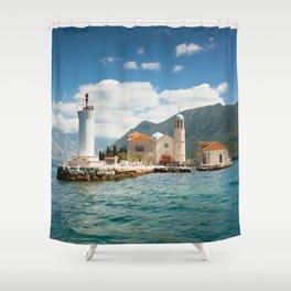 Gospa od Skrpjela Shower Curtain