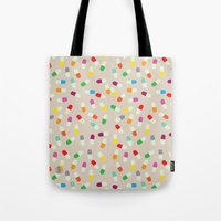 the cure Tote Bags featuring Pill cure by  R U A L E G R E