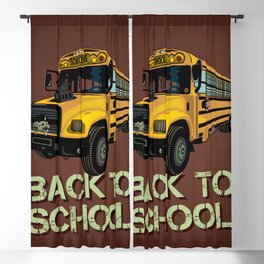 Back to school Blackout Curtain