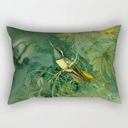 Hummingbird 3 Rectangular Pillow