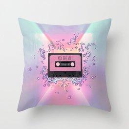 Mix Tape Vol 1 Throw Pillow
