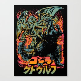 Clash of Gods: Remake Canvas Print