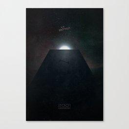 2001 A Space Odyssey alternative movie poster Canvas Print