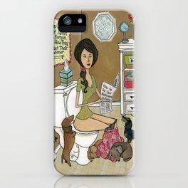 Treat Your Wiener Good iPhone Case