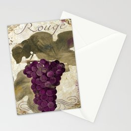 Tuscan Table Rouge Stationery Cards