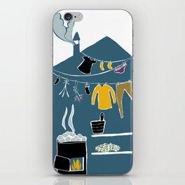 Sauna iPhone Skin