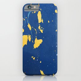 Meteor Shower as Seen on the Hull of a Boat iPhone Case