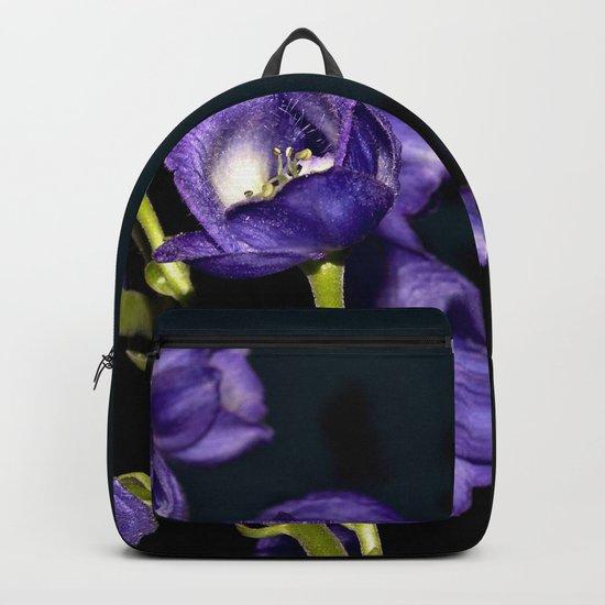 Dark Purple Elegance Backpack