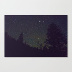 Stars in Yosemite Canvas Print