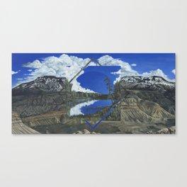 Grand Mesa Polyscape Canvas Print