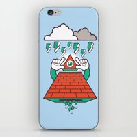 illuminati iPhone & iPod Skins featuring Illuminati by Tshirtbaba