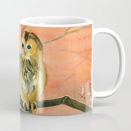 Colorful Owl Art Coffee Mug