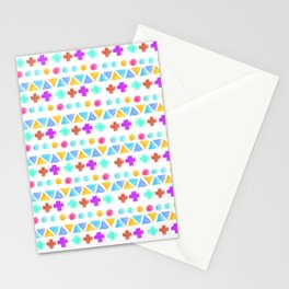Retro pattern pencil  Stationery Cards