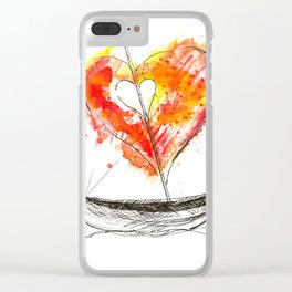 love boat Clear iPhone Case