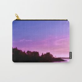 Northern Lights at Sunset Carry-All Pouch
