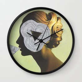 ...Triangulation.... Wall Clock