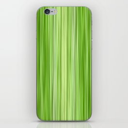 Green 3 iPhone Skin
