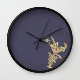 Enjoy Yourself, It's Later Than You Think Wall Clock