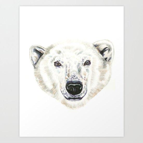 Polar Bear! Art Print