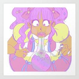 Lo-Weed-A Art Print