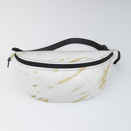 Marble - Yellow Gold Marble Design Fanny Pack