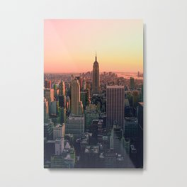 New York City #society6 #decor #buyart Metal Print