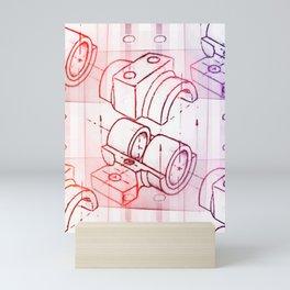 Technical Sketch Mini Art Print