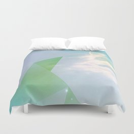 EVERYTHING HAPPENS FOR A REASON Duvet Cover