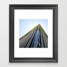 Dalle de verre Framed Art Print